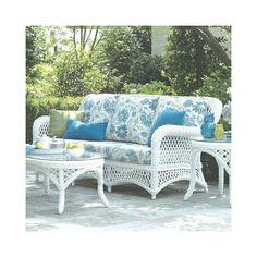 ElanaMar Designs Savannah Sofa with Cushions Fabric: Stanton Lagoon