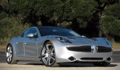 Fisker Karma 2012-2013 hybrid from American company Fisker Automotive, produced since 2011. The car differs a hybrid, which consists of an internal combustion engine and two electric motors, which are powered by lithium-ion batteries.