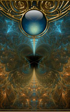 Fractal and Photoshop by Nathan Smith