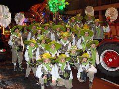 Groepsfoto carnaval