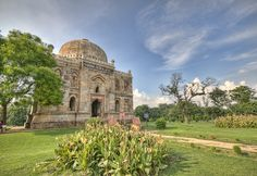 Sheesh Gumbad, Lodi Gardens, New Delhi by Mukul Banerjee on First Battle Of Panipat, Governor General Of India, Lodi Gardens, Sufi Saints, Archaeological Survey Of India, Mughal Empire, New Delhi, 15th Century