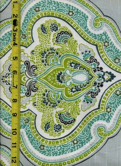 View Paisley img9013 from LotsOFabric.com! This interior design fabric would be great for upholstery or drapery. Paisleys always add good color value and offer an alternative to floral patterns. Order swatches online or shop the Fabric Shack Home Decor collection in Waynesville, Ohio.