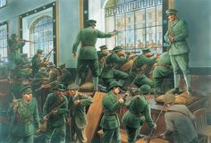 With inspiration from the past and ramifications for the future, the 1916 Easter Rising is the most pivotal event in Irish history. Republican News, Irish Republican Army, Military Art, Military History, Military Diorama, Military Uniforms, Ireland 1916, Irish Independence, Easter Rising