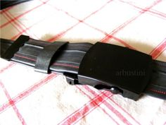 belt made from a bike-tube!