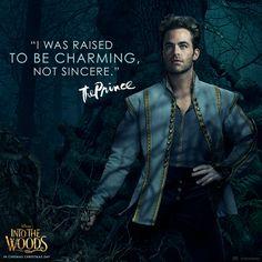 Chris Pine is The Prince.