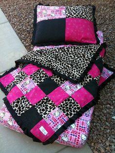 Hello Kitty Toddler Bed Set  Hello Kitty Toddler Bedding  Hello kitty baby blanket