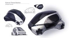 Ford Community Mobility on Behance Car Design Sketch, Car Sketch, Microcar, Smart Car, City Car, Cool Sketches, Transportation Design, Mobile Design, Automotive Design