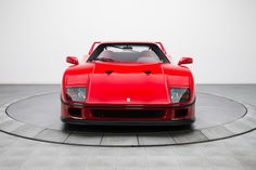 91' Ferrari F40 Muscle Cars For Sale, Ferrari Laferrari, Twin Turbo, Supercars, Race Cars, Classic Cars, Racing, Vehicles, Collection