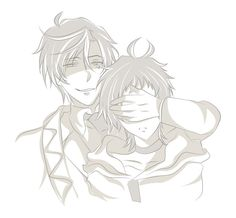 Touma and Tsurugi by SugarMaple11