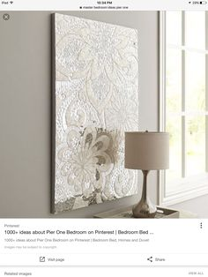 Champagne Mirrored Mosaic Damask Wall Panel | color ...