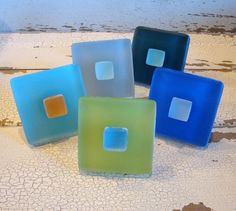 Sea Glass Cabinet Knob Pull $11 ea