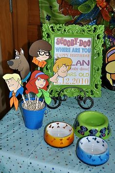 Scooby-Doo - I'm Party Trained. Kids Party Themes, Birthday Party Decorations, Party Ideas, 6th Birthday Parties, Birthday Diy, Birthday Ideas, Scooby Doo Birthday Cake, Happy Birthday Bunting, Party Time