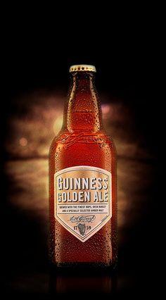 GUINNESS GOLDEN ALE -- Ma bière de mamie d'amour. Divine.