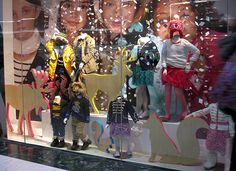 Neon Trimmed Animals | GAP Holiday Displays