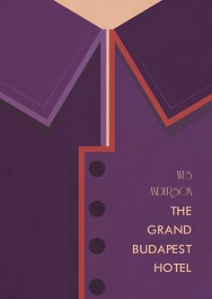 The Grand Budapest Hotel (2014) ~ Minimal Movie Poster by Stefano Reves