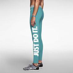 Nike Pro Hyperwarm Mezzo Waistband Women's Training Tights. Nike Store