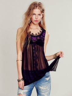 Free People High Neck Candy Tunic, $128.00