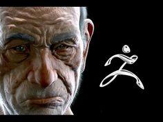 Grumpy Grandpa * Zbrush + Keyshot - YouTube