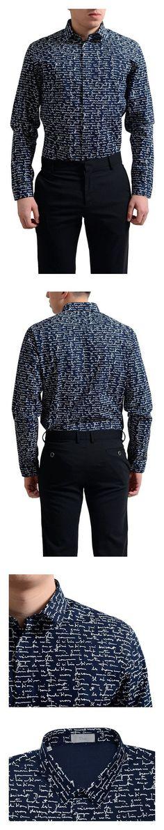 Dior Men's Multi-Color Button Down Dress Shirt US 15 IT 38; #apparel #shirt #christiandior #dress_shirts #shirts #clothing #men #departments #shops