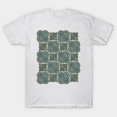 Ornamental pattern no.7 - muted colours - Ornamental Pattern - T-Shirt   TeePublic