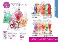 Hand Soap, Body Lotion, Body Spary