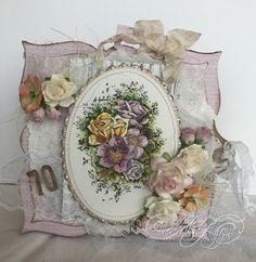 Bursdagskort  - Audhild Ljones - Stempelglede :: Design Team Blog Decorative Plates, Layout, Scrapbook, Garden, Projects, Blog, Handmade, Inspiration, Vintage