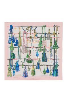 Vintage Hermes Passementerie Silk Scarf