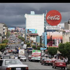 San Jose, Costa Rica.  I miss this city so much.