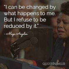 Maya angelou picture quote