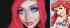 Cosplayer cria personagens com maquiagem e hijabs. Tem de Disney a vilões! - http://www.garotasgeeks.com/cosplayer-cria-personagens-com-maquiagem-e-hijabs-tem-de-disney-a-viloes/
