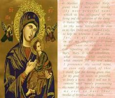 Our Lady of Perpetual Help Feast Day: June 27