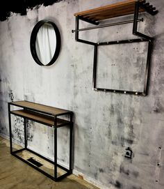Spinder Design interior - House of Heritage - Diva mirror - Rizzoli coatrack - Diva Side table