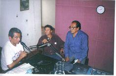 Entrevistando en Ica a dirigentes sociales de Parcona, Ica PEru.