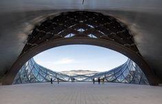 Harbin Opera House - Picture gallery #architecture #interiordesign #skylight