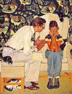 ... The Facts of Life - Norman Rockwell by x-ray delta one, via Flickr
