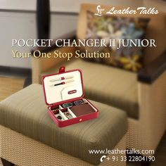 Find great deals on Leather Talks for Mens lifestyle and personal accessories. This pocket changer has five separate padded chambers for safe keeping of your glasses, wallet, watch, cufflinks and keys.   #leatheraccessory #redpocketchanger http://leathertalks.com/product/pocket-changer-ii-junior/