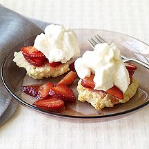 Strawberry Shortcake with Strawberry Sauce