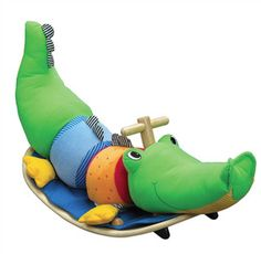 crocodile rocking chair