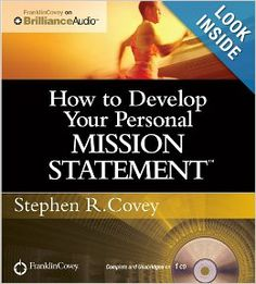 How to Develop Your Personal Mission Statement: Stephen R. Covey: REVIEW: I am no youngster. Reading this book after living a life of significance confirmed that the choices made, the principles subscribed to, made me a happy and fulfilled person. 7 Habits of Highly Effective People formed the base of my MBA Studies many years ago and has been part of my life ever since. Thank you Stephen R. Covey - you opened my eyes to the magic of being human.
