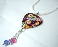Dia de los Muertos Skeleton Guitar Pick and White by ItsYourPick