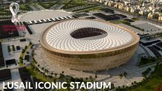 Lusail Iconic Stadium - 2022 FIFA World Cup Final Stadium Qatar Stadium, 2022 Fifa World Cup, Cheap Games, National Stadium, World Cup Final, Football Kits, Finals, Soccer Kits, Final Exams