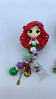 #badgereel #nurse #emt #lvn #cna #hospital #nurselife #disney #office #disneyland Swipe Card, Badge Reel, Disneyland, Sparkle, Clay, Christmas Ornaments, Holiday Decor, Gifts, Clays