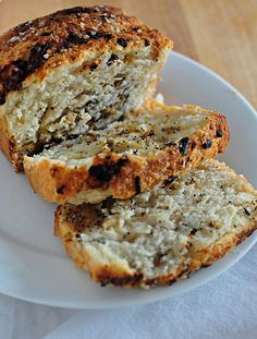 Rosemary Onion Bread with Blue Cheese Topping | Recipes to Try ...