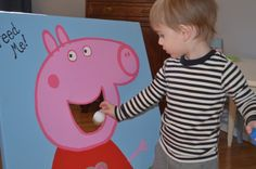 Top 10 Oink Oink Peppa Pig Birthday Party Ideas If your child loves Peppa Pig, why not throw them a Birthday bash they will truly love and include these Top 10 Peppa Pig Party Games, Fiestas Peppa Pig, Cumple Peppa Pig, Third Birthday, 4th Birthday Parties, Birthday Games, Birthday Bash, Peppa Pig Birthday Ideas, Peppa Pig Birthday Decorations