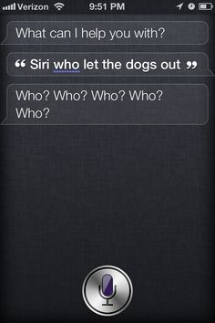 Siri!