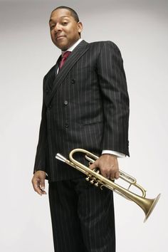 The one and only Wynton Marsalis