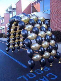 Arco para graduación con globos