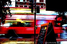 Bus fly by. London. www.facebook.com/readdymadepictures