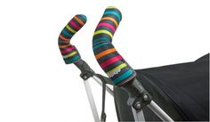 These CityGrips Double Bar Stroller Handlebar Covers aren't just adorable--they also camouflage the damage foam grips can incur over time; from $13.