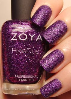 The TraceFace Philes: Zoya Fall 2013 Pixie Dusts! Carter